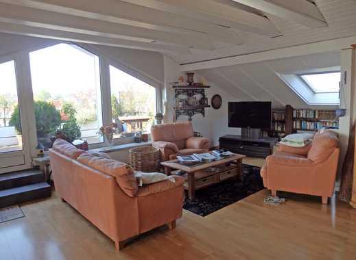 WOHNEN UND/ODER ARBEITEN - Lichtdurchflutete Penthouse-Wohnung mit Loggia und Sauna