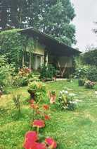 Ferienhaus-Gartengrundstück in schöner grüner Lage