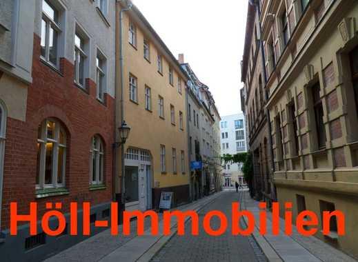 Höll-Immobilien bietet exklusive 2-Raumwohnung mit Terrasse und Küche im Zentrum von Halle.