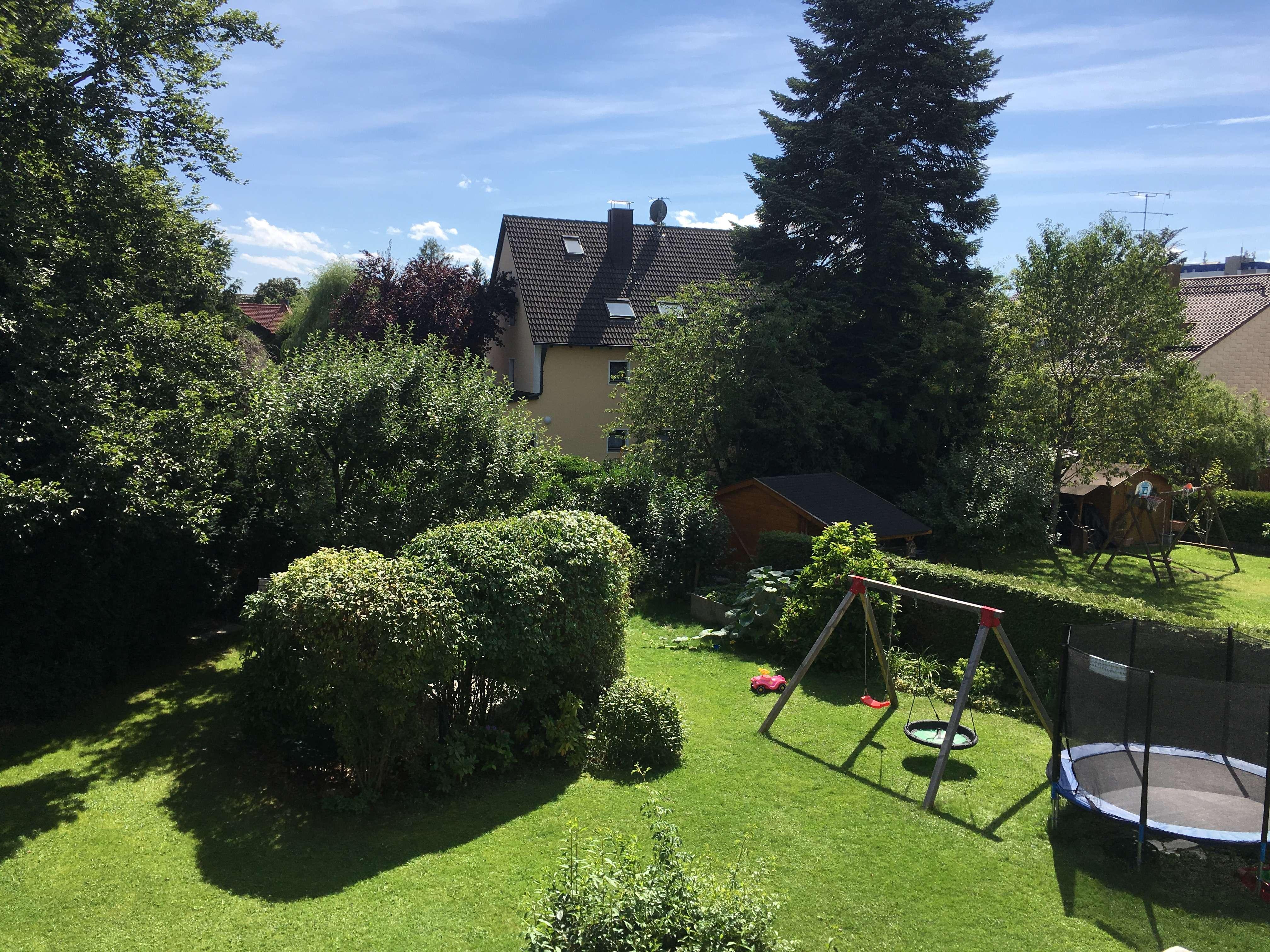 Möblierte 3,5 Zi-Wohnung mit großem Balkon in Großhadern (U6) KEINE WG! in Hadern (München)