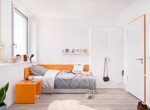 Sofort frei! NUR FÜR STUDENTEN!  Top möbliertes 1-Zimmer-Apartment Typ 1a-d mit Pantry Küche - H2F
