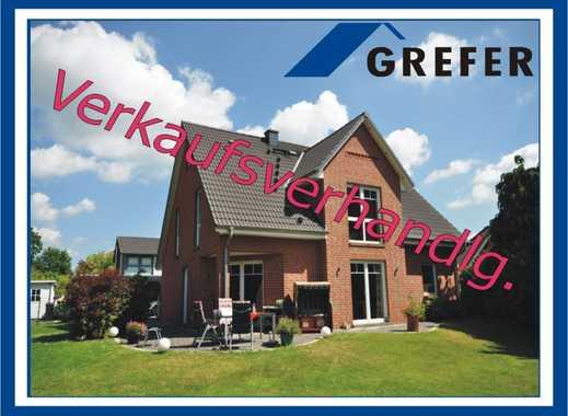 Burgdorf, tolles, modernes Landhaus mit Kaminofen und Doppelcarport                GREFER IMMOBILIEN