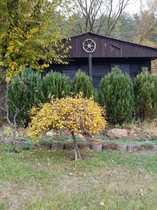 Schönes Wochendgrundstück mit Holzhaus in