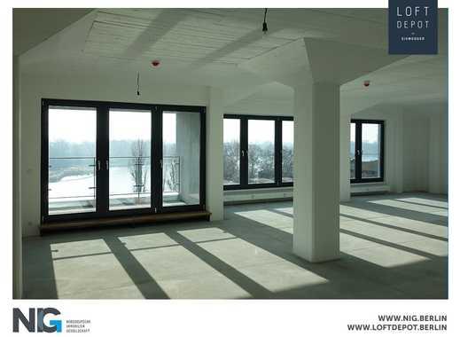 Ihr neues Loft-Büro mit Wasserblick | Spandau