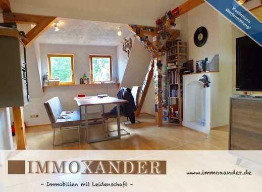 IMMOXANDER: *2,5 Zi. Dachgeschoss-Wohnung mit gr. Platzangebot - Ausblick ins Grüne - ruhige Lage*