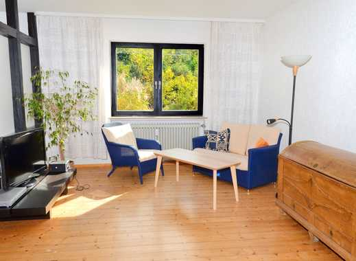 Gemütliche möblierte Wohnung mit Gartennutzung in ruhiger Wohnlage am Ortenberg