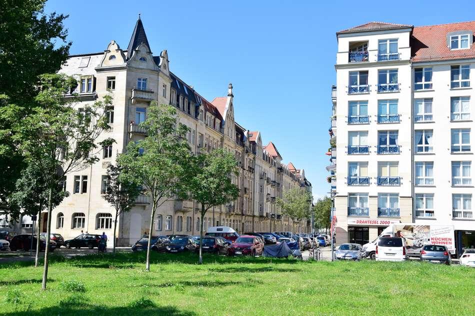 Blick in Blumenstraße