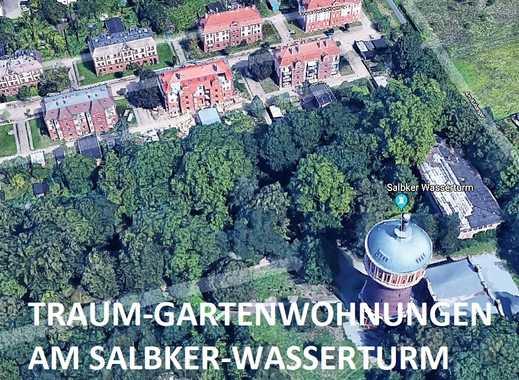 GARTEN-WOHNUNG- AM SALBKER WASSERTURM 73 m²- 122 m², Erstbezug