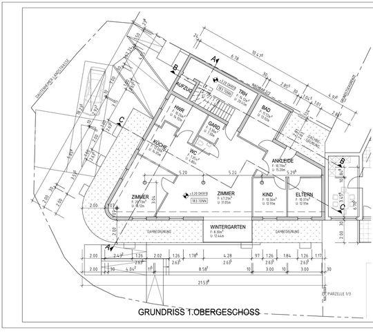 Grundriss 1.Obergeschoss - 1 z