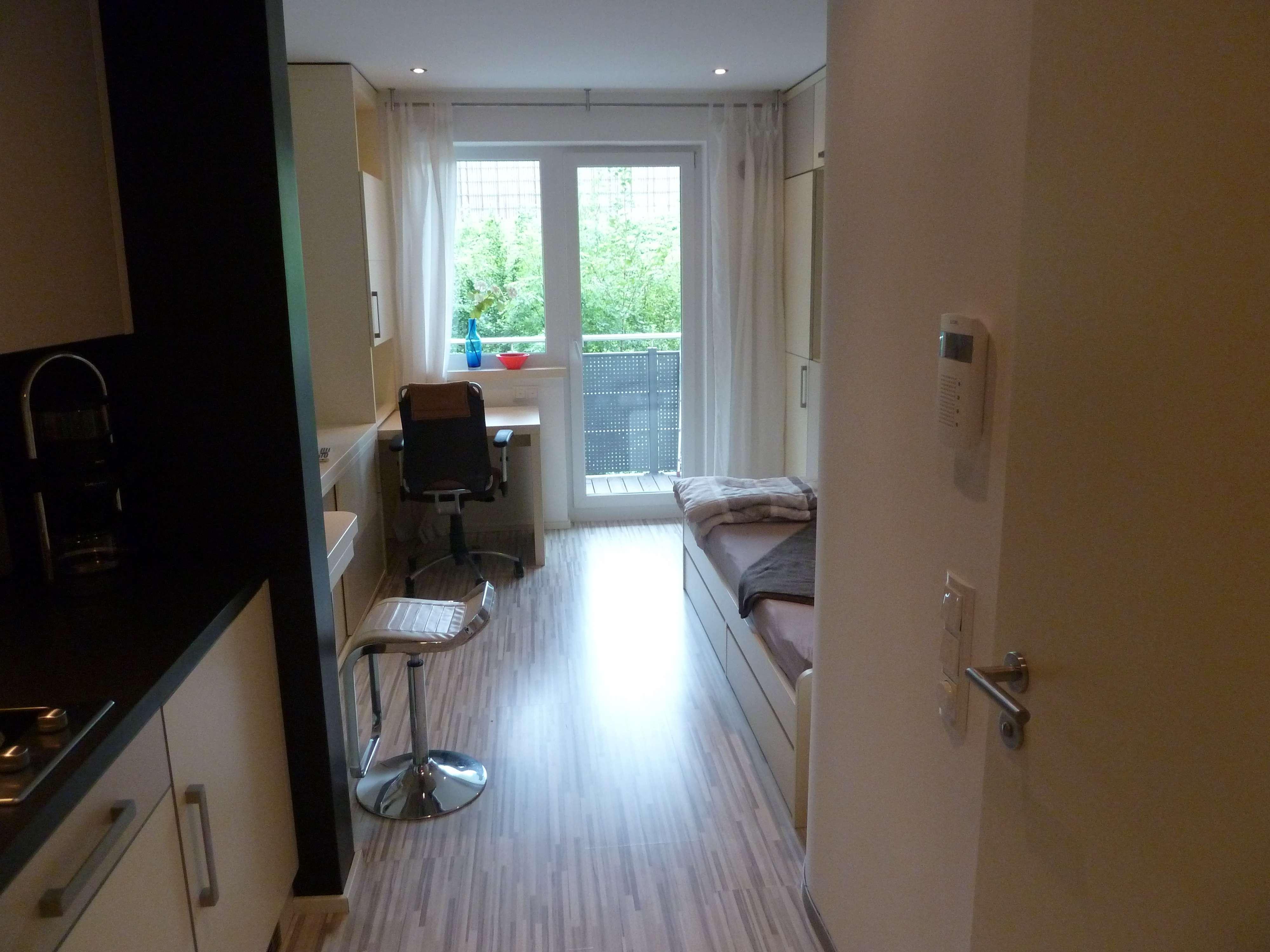 Modernes Apartment (möbliert) im Living Center Garching zu vermieten