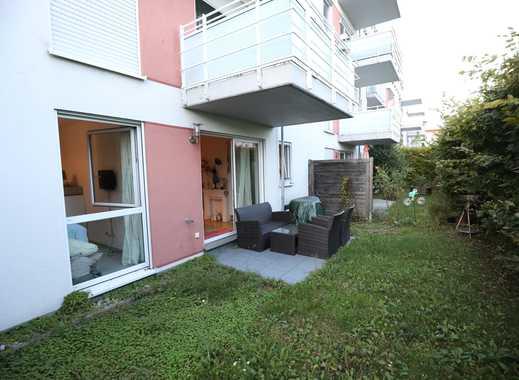 Stilvolle, idyllische 2-Zimmer-EG-Wohnung mit Gaten und Einbauküche