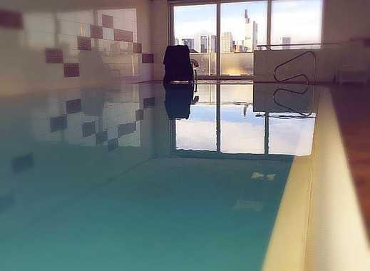 Luxus Wohnung-Luxury Flat All-Inklusive!! EBK+Möbel+Sauna+Schwimmbad+Sonnenterrasse+Internet