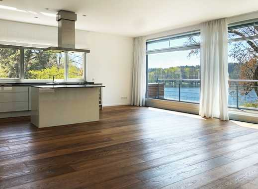 Lichtdurchflutete Maisonette-Wohnung mit Seezugang