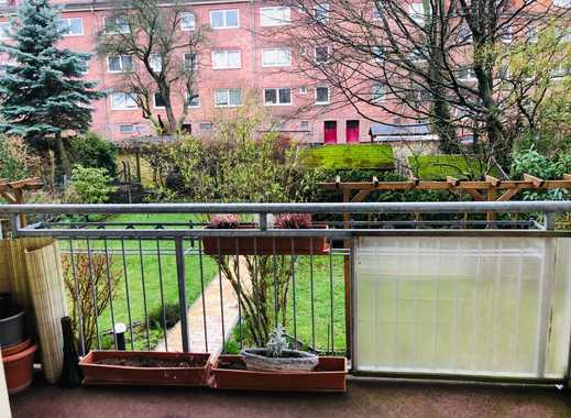 Eigentumswohnung mit sicherem Mieter - Wannenbad m. Fenster - Balkon
