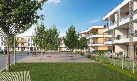 Sehr schöne, sonnige 2-Zimmer Gartenwohnung mit großer Terrasse und Einbauküche in Vaterstetten in Vaterstetten