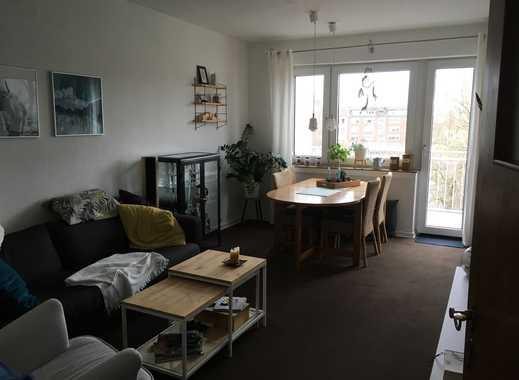 zentral, aber ruhig gelegene 3-Zimmer-Wohnung mit Südbalkon