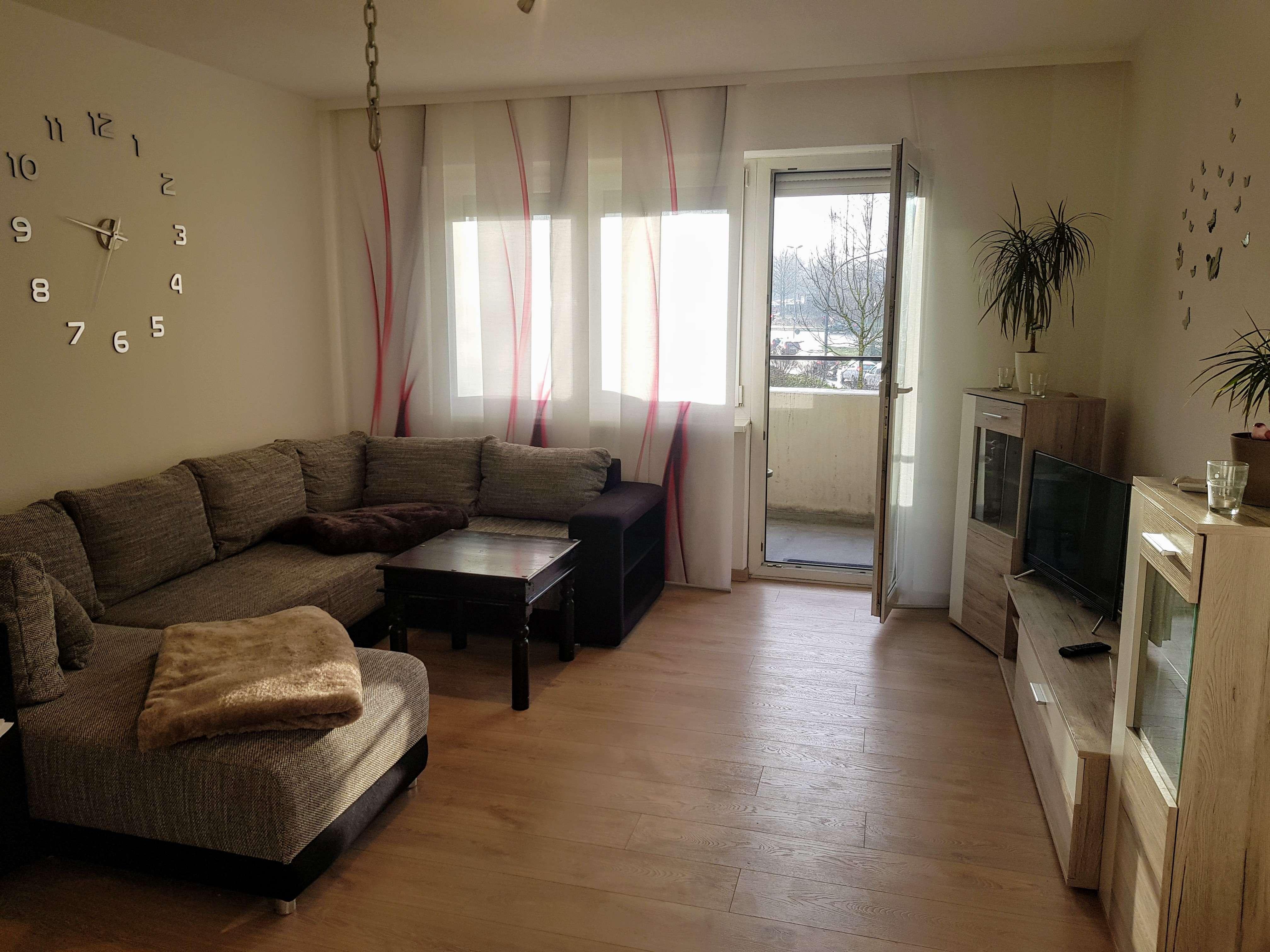 Schön geschnittene 1-Zimmerwohnung in