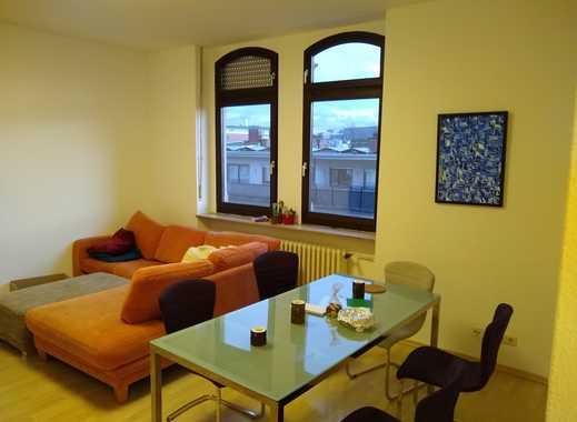 Exklusive, geräumige 2-Zimmer-Wohnung mit Balkon und EBK in Mannheim