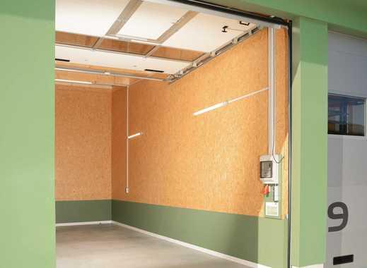 XL-Garage Kleinhalle (nicht nur für Wohnmobile) ca. 4m hoch, ca. 10m lang, Breite 3,3 bis 10m