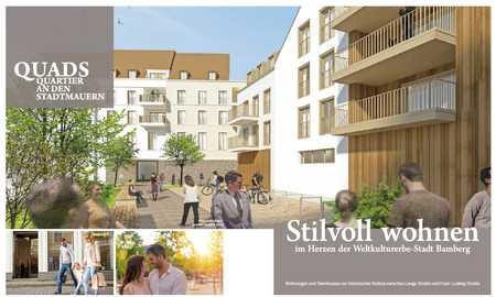 2-Zimmer Wohnung in innerstädtischer Lage- WOHNEN wo andere Urlaub machen in Insel (Bamberg)