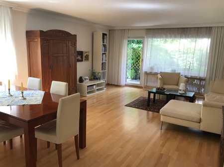 Grosszügige traumhafte helle 3-Zimmer-Terrassen Wohnung mit Privatgarten in Harlaching in Harlaching (München)
