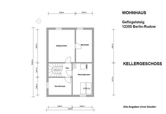 Freistehendes Haus im Rudower Geflügelviertel - 360°- Rundgang - Bild 31