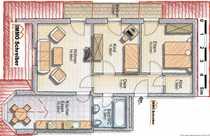 Gepflegte Dreizimmerwohnung in einer kleinen