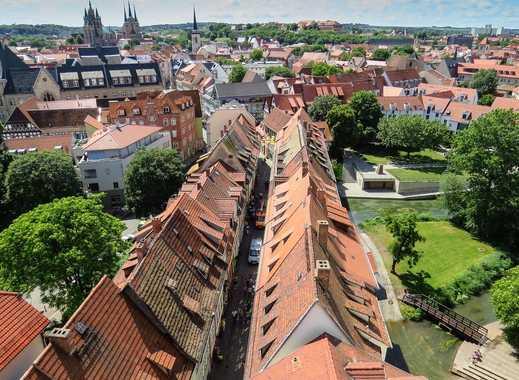 Im Herzen Erfurts - Mehrfamilienhaus  mit Gewerbeflächen und Grundstück