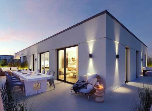PANDION VILLE - Penthouse mit großer Dachterrasse mit Südausrichtung im neuen Quartier - Erstbezug
