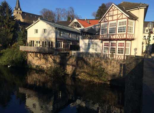 Luxus-Stadthaus mit Süd-West-Dachterrasse und Ruhrblick in Altstadt von Kettwig; Kauf oder Miete