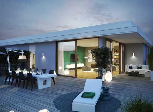 PANDION 4LIVING - Representative 4-Zimmer-Penthouse Wohnung mit schöner Dachterrasse