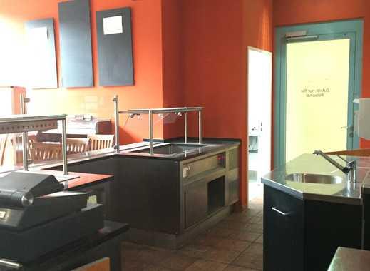 Attraktive Gastronomiefläche in einem Bürokomplex