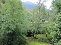 Traumlage mit Bergblick in Kochel