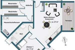 2 Zimmer Wohnung in Rheinisch-Bergischer Kreis