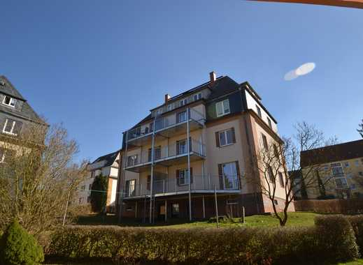 Moderne 4-Raum-Etagenwohnung mit großem Balkon