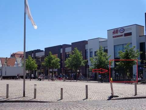 Ladenflache In Der Innenstadt Von Cuxhaven In Der Nordsee Galerie