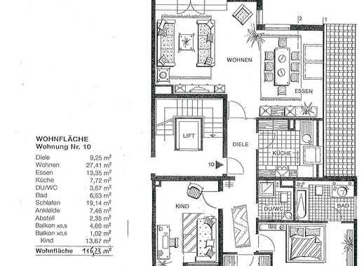 Ansprechende 3,5-Zimmer-Dachgeschosswohnung mit Balkon in Haan