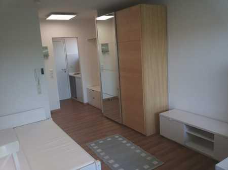 Stilvolle, möblierte 1-Zimmer-Wohnung mit Balkon. Stellplatz und EBK inklusive! in Gerbrunn