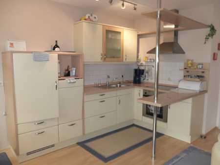 Möblierte 2 Zimmer EG Wohnung mit Ost-Terrasse und EBK in Bad Wörishofen
