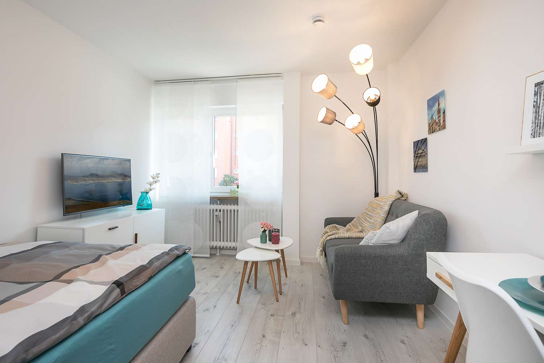 Charmante 1-Zimmer-Wohnung in Haidhausen (inkl. Tiefgarage)