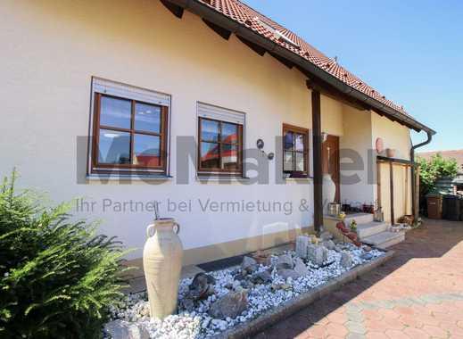 Ruhig und zentral wohnen nahe Nürnberg: Gepflegtes EFH mit Sauna und Garten im grünen Schwabachtal
