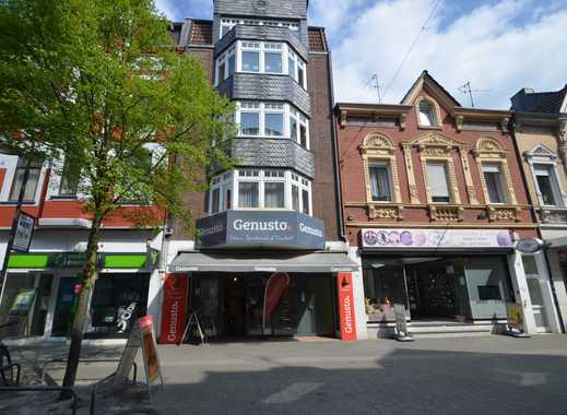 Fußgängerzone- Helles Ladenlokal mit Lagerfläche
