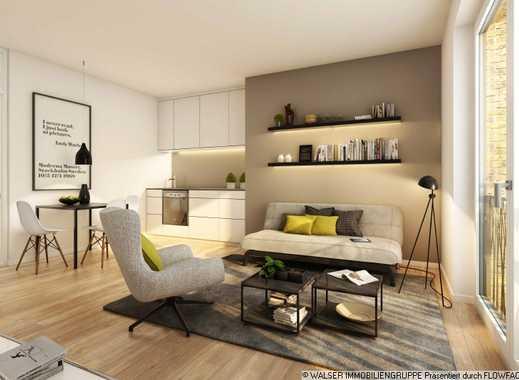 Durchdachte 1,5-Zimmer-Wohnung mit Loggia direkt an der Galluswarte