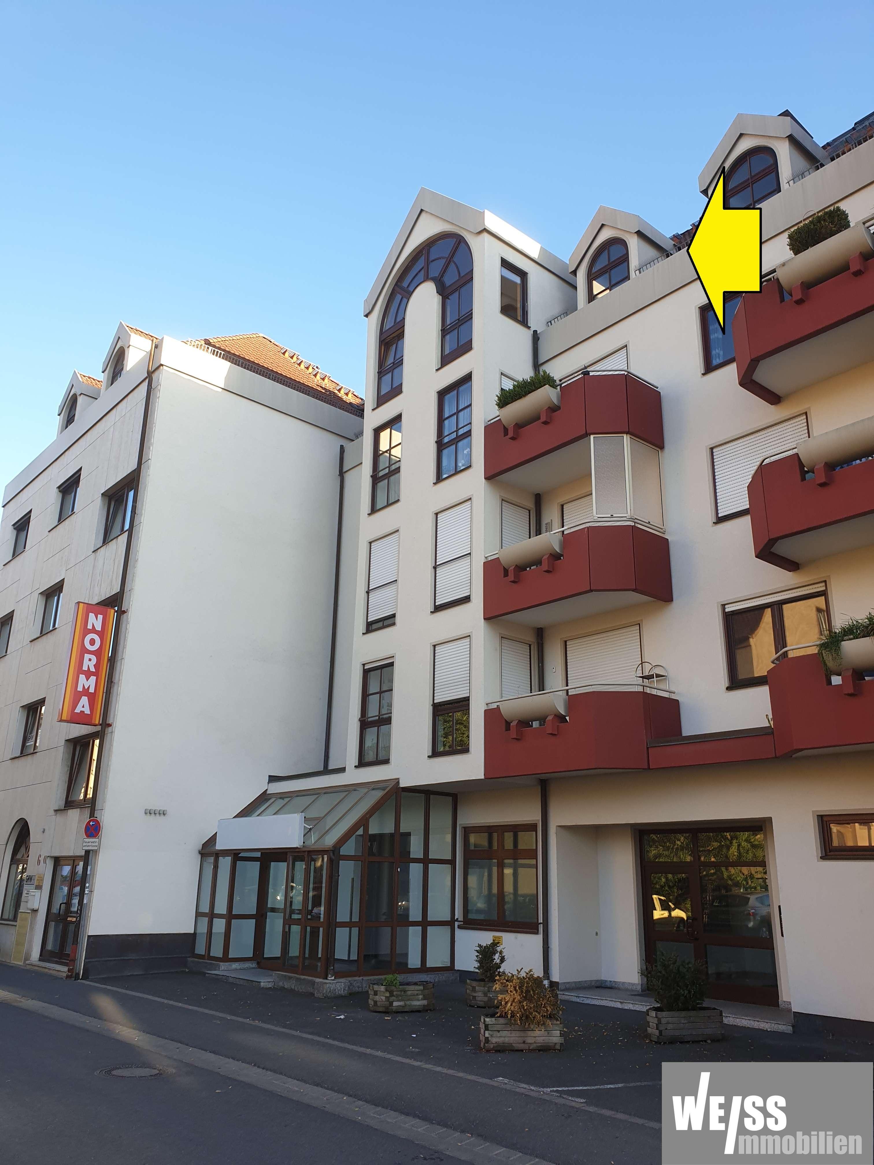 Ruhige, zentrale 3 Zimmer Maisonettewohnung -ohne Balkon- in