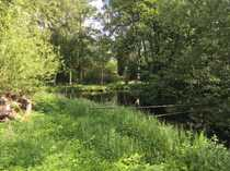 Herrliches Wassergrundstück am Inselkanal mit