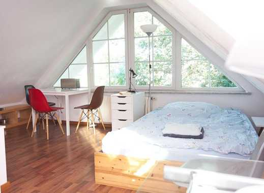 Charmante ruhige vollmöbl. 2-Zi. Wohnung (48qm) mit Balkon und Terasse im Privathaus