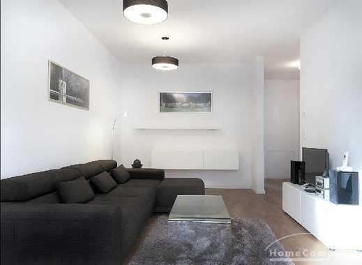 Exklusive möblierte 2-Zimmer-Wohnung mit großem Balkon am Nymphenburger Schloßpark