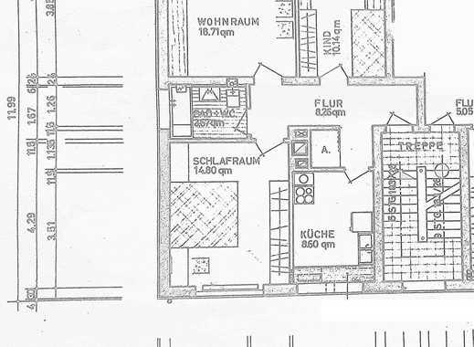 Schöne drei Zimmer Wohnung in Duisburg, Neudorf-Süd