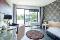 Möbliertes One-Room-Design Apartment Provence Typ