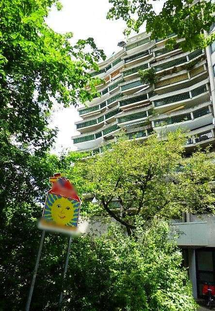 +SCHWABING Ungererstraße+Möbliertes 1-Zi.-Apartement für Single+großer Sonnenbalkon+TG-Stellplatz in Schwabing (München)